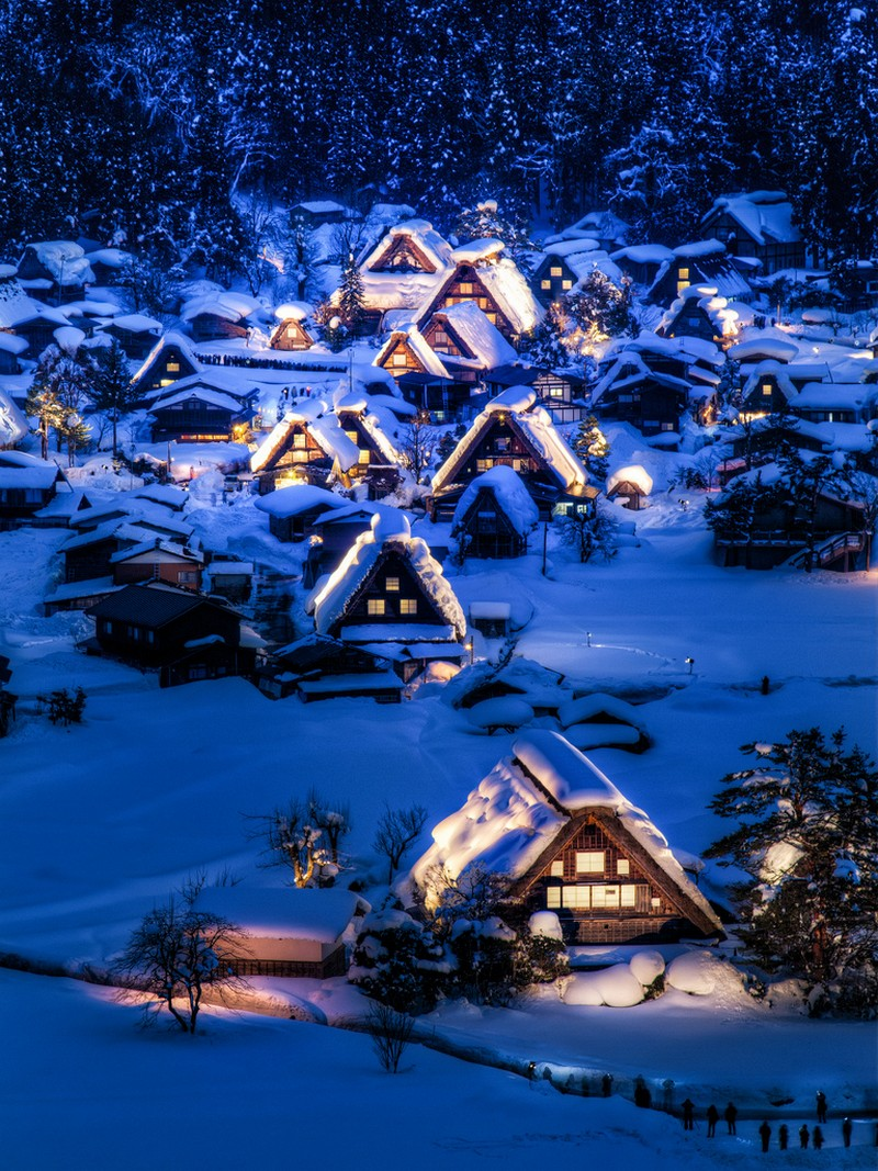 Shirakawa, Gifu (village), Japan.
