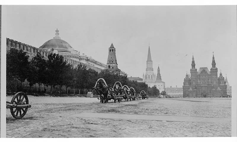 Vintage Photographs of Moscow 1909